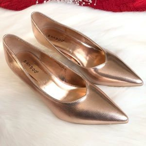 Bamboo | Rose-Gold Prevail Pumps